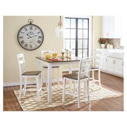 ASHLEY WOODANVILLE DINING ROOM TABLE WITH 4 CHAIRS D335-223 Image