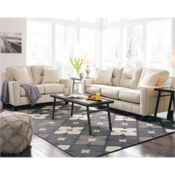Ashley Forsan Nuvella Sofa & Love Seat (Sand) 6690538/35 Image